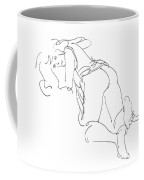 Erotic-line-drawings-23 Coffee Mug