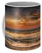 Evening At The Beach Coffee Mug