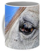 Eye Of A Horse Coffee Mug