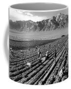 Farm Workers And Mount Williamson Coffee Mug