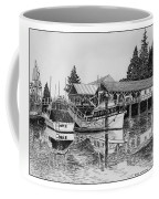 Net Shed Gig Harbor Coffee Mug