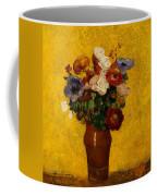 Flowers Coffee Mug by Odilon Redon