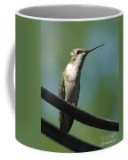 Girl On A Wire Coffee Mug