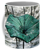 Glass Lily Pad  Coffee Mug
