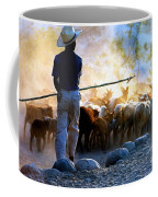 Herder Going Home In Mexico Coffee Mug