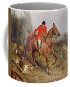 Hunting Scene Coffee Mug