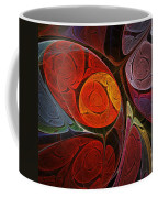 Hypnotic Flower Coffee Mug by Anastasiya Malakhova