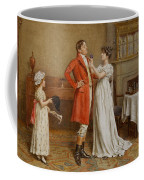 I Wish You Luck Coffee Mug by George Goodwin Kilburne