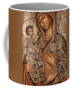 Icon Of The Blessed Virgin With Three Hands Coffee Mug by Novgorod School