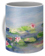 Impressionistic Lilies Monet Coffee Mug