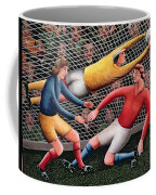 It's A Great Save Coffee Mug by Jerzy Marek