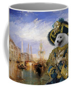 Japanese Spitz Art Canvas Print Coffee Mug