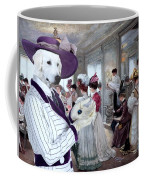 Kuvasz Art Canvas Print Coffee Mug
