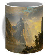 Lake In The Sierra Nevada Coffee Mug