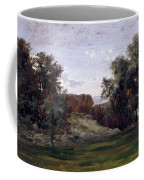 Landscape Near The Monastery Piedra. Aragon Coffee Mug