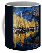 Larch Tree Reflection  Coffee Mug