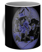 Leif Erickson And Cameron Mitchell  The High Chaparral Old Tucson Arizona 1969 Coffee Mug
