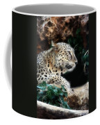 Leopard Watching It's Prey Coffee Mug
