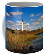 Lighthouse At The Water Coffee Mug