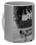 Man From Monterey Homage 1933 Sleeping Cowboy Tucson Arizona 1984 Coffee Mug
