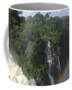 Mist And Rainbow At Victoria Falls Coffee Mug