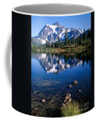 Mt. Shuksan Reflected In Picture Lake Coffee Mug