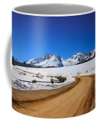 Open Road Tothe Sawtooth Mountains Coffee Mug