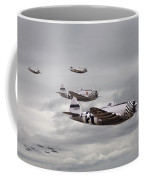 P47 Thunderbolt  Top Cover Coffee Mug by Pat Speirs