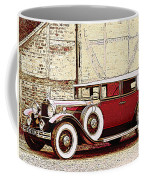 Packard Standard Eight Convertible Coffee Mug