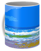 Para-surfer 2p Coffee Mug by CHAZ Daugherty