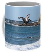Pelican With Wet Feet Coffee Mug