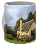 Picturesque Thatched Roof Cottage In Selworthy Coffee Mug