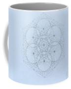 Quantum Snowflake Coffee Mug