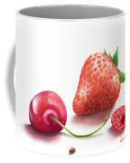 Red Fruits Coffee Mug