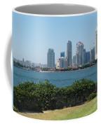 San Diego Viewed From Coronado Island Coffee Mug