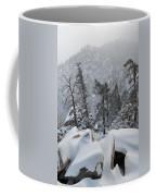San Jacinto Winter Wilderness Portrait Coffee Mug