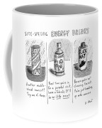Site-specific Energy Drinks A Series Of Energy Coffee Mug