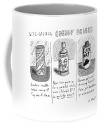 Site-specific Energy Drinks A Series Of Energy Coffee Mug by Roz Chast