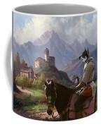 Swedish Elkhound - Jamthund Art Canvas Print Coffee Mug