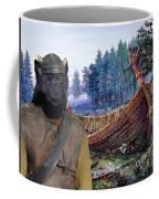 Swedish Lapphund Art Canvas Print  Coffee Mug