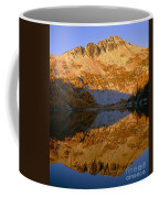 Switchback Peak On Cooney Lake Coffee Mug