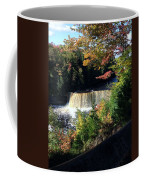 Tahquamenon Falls In Autumn Coffee Mug