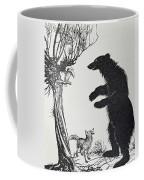 The Bear And The Fox Coffee Mug