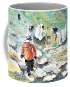 The Child And The Birds On Lake Constance Coffee Mug