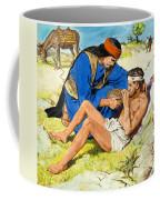 The Good Samaritan  Coffee Mug
