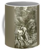 The Good Samaritan  Coffee Mug by English School