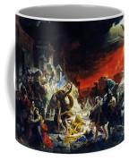 The Last Day Of Pompeii Coffee Mug