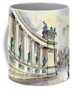 The Millennium Monument In Budapest Coffee Mug