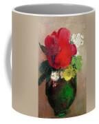 The Red Poppy Coffee Mug by Odilon Redon