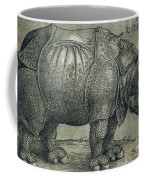 The Rhinoceros Coffee Mug by Albrecht Durer
